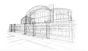 commercial construction drawing